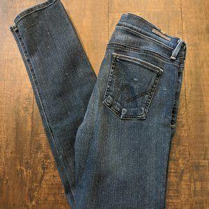 Citizen of Humanity Avedon slick skinny jeans